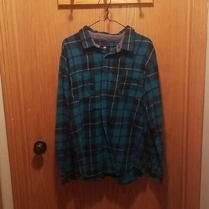 Quicksilver Flannel Button up. Mens XL
